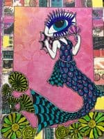 Dylusions - Rubber Stamps - MerLady